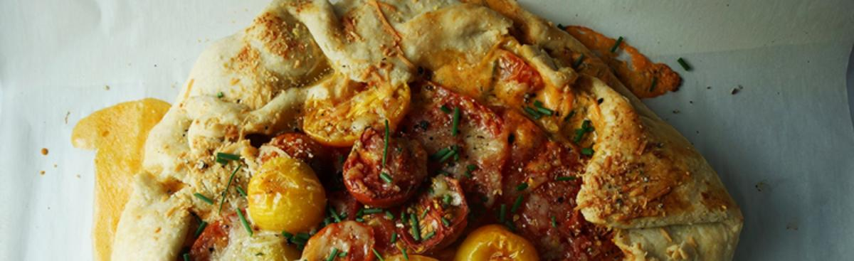 Recipe of the Week - Tomato and Smoked Cheddar Galette