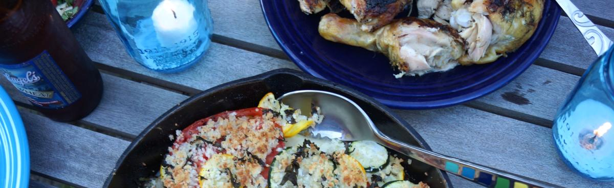 Recipe of the Week - Summer Squash & Tomato Gratin