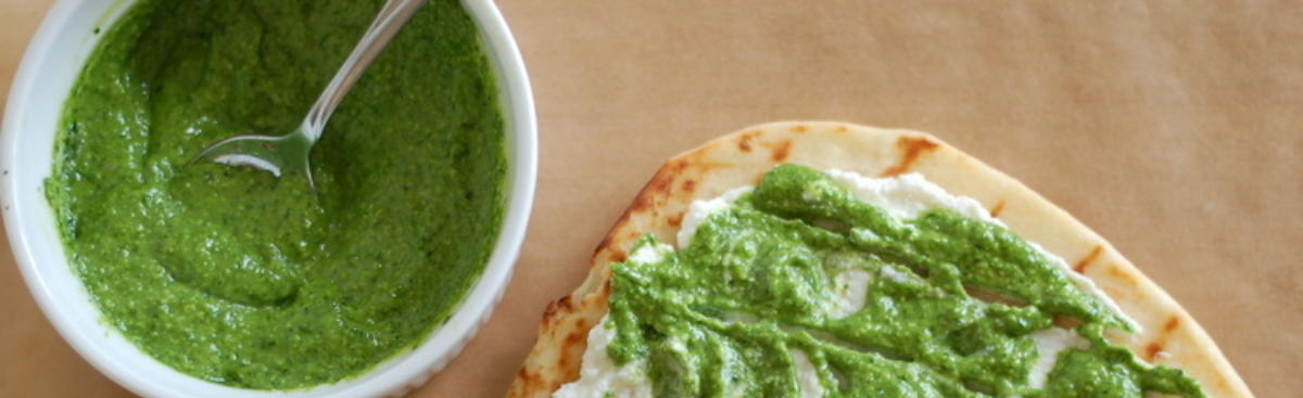 Recipe of the Week - Spring Pesto Flatbread
