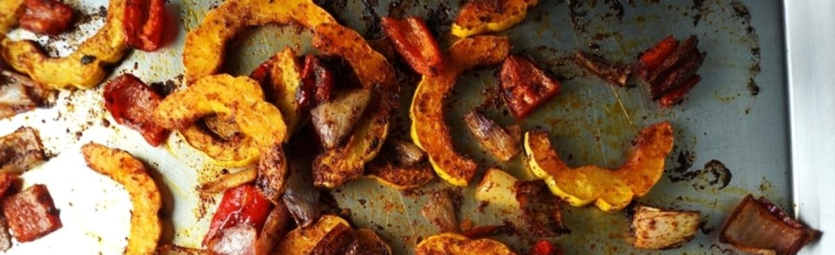 Recipe of the Week - Chile Roasted Squash and Sweet Pepper Quesadillas