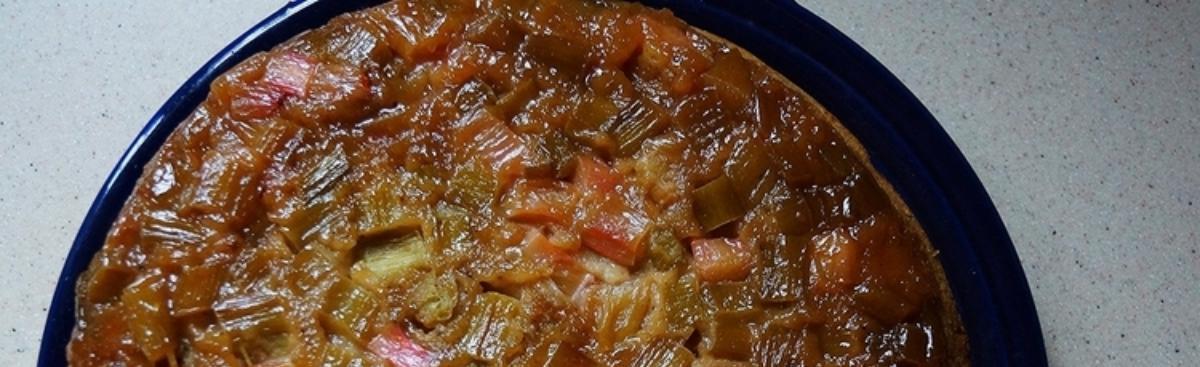 Recipe of the Week - Rhubarb Upside Down Spice Cake