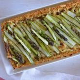Recipe of the Week - Asparagus Tart with Quinoa Crust