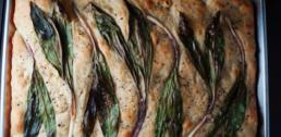 Recipe of the Week - Ramp Focaccia Bread