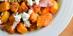 WI Whisk Recipe of the Week - Brown Buttered Squash with Prosciutto and Goat Cheese