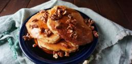 Recipe of the Week - Sweet Potato Bourbon Pancakes