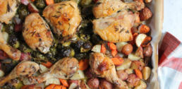 Recipe of the Week - One Pan Roasted Chicken with Vegetables