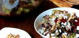 WI Whisk Recipe of the Week - Roasted Beet Salad with Candied Walnuts and Goat Cheese