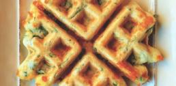 Recipe of the Week - Spinach and Cheddar Waffles