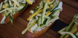 Recipe of the Week - Zucchini Tartines