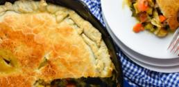 Recipe of the Week - Skillet Chicken Pot Pie With Winter Squash And Kale