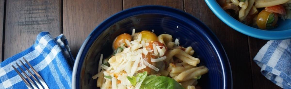 Recipe of the Week - Tomato, Basil, & Brie Pasta