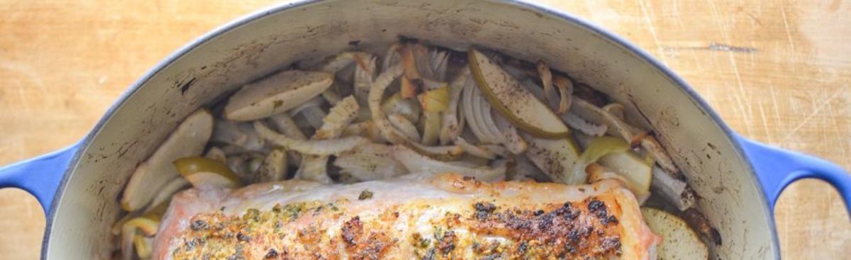 Recipe of the Week - Roast Pork Tenderloin with Fennel & Apples
