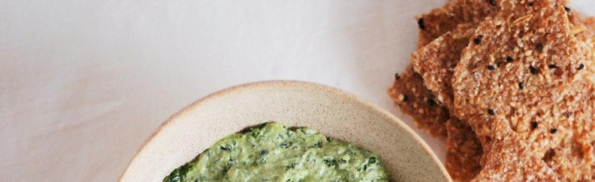 Recipe of the Week - Spinach and Goat Cheese Dip