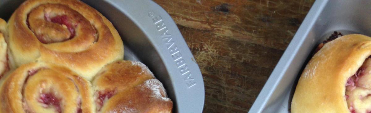Recipe of the Week - Balsamic Strawberries and Cream Sweet Rolls