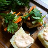 Recipe of the Week - Banh Burgers