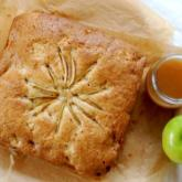 WI Whisk Recipe of the Week - Apple Cake with Cider & Maple Syrup Sauce