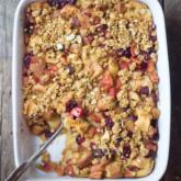WI Whisk Recipe of the Week - Apple Cranberry Bread Pudding