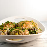 WI Whisk Recipe of the Week - Creamy Chicken with Mushrooms and Leeks