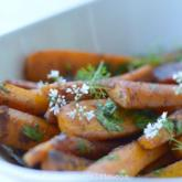 Recipe of the Week - Pan Seared Carrots with Cumin and Turmeric Butter