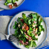 Recipe of the Week - Spinach, Beet, Bacon, and Blue Cheese Salad