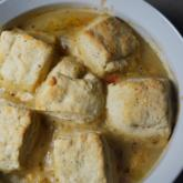Recipe of the Week - Chicken and Root Vegetable Stew with Parmesan Biscuits