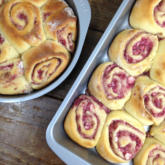Recipe of the Week - Balsamic Strawberries and Cream Sweet Rolls