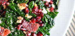 WI Whisk Recipe of the Week - Massaged Kale Salad with Blood Orange and Pomegranate