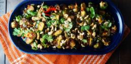 WI Whisk Recipe of the Week - Sambal Roasted Brussels Sprouts