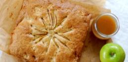 Recipe of the Week - Apple Cake with Cider & Maple Syrup Sauce