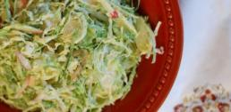 WI Whisk Recipe of the Week - Brussels Sprouts and Apple Slaw