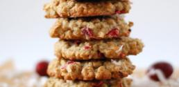 Recipe of the Week - Cranberry & Ginger Oatmeal Cookies