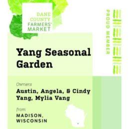 Yang Seasonal Garden LLC
